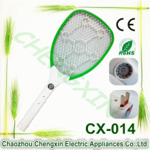 Electric LED Bug Fly Mosquito Zapper Swatter Killer Control with Built-in Rechargeable Batteries