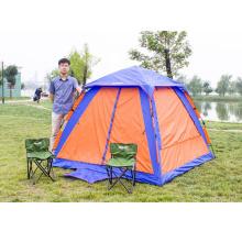 Tienda de campaña de acampar al aire libre automática tienda de playa tienda de Sunshad 3-4 persona
