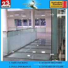 12 мм с AS / NZS2208: 1996 Толстое закаленное стекло