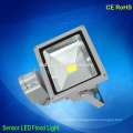 High power induction led lights sensor led flood light ip65 waterproof outdoor