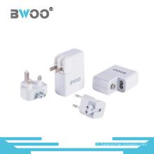 Chargeur d'alimentation de chargeur de voyage USB à 4 ports