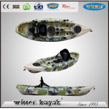 Kayak plástico simple de la pesca del punto