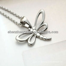 Tier Libelle unregelmäßige Mode Persönlichkeit Edelstahl Mädchen Halskette