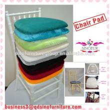 Almofada de cadeira de casamento durável de alta densidade