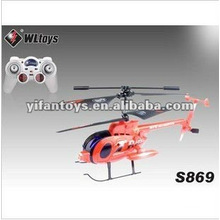 WL Toys S869 R/C 3.5CH demonstrate helicopter with gyro