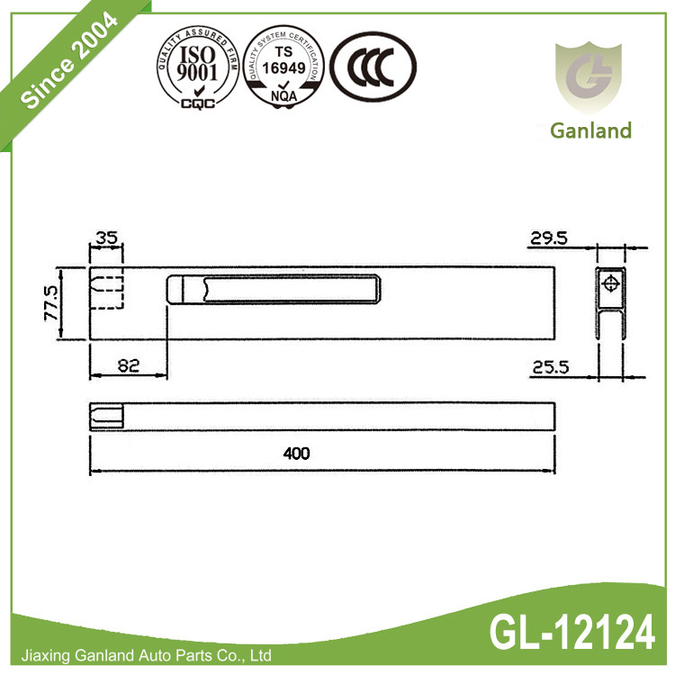 Tailboard Dropside Locks
