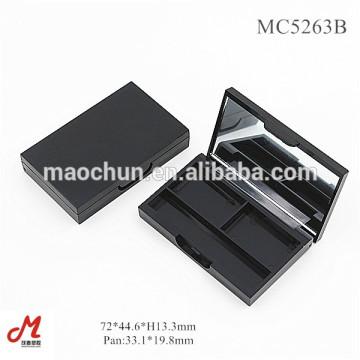 MC5263B Kleine Lidschattenkoffer mit Spiegel, kleines Kompaktgehäuse