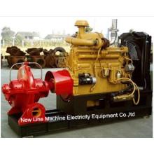 Pompe de suralimentation entraînée par un moteur diesel