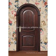 Diseños de puertas de madera de arco