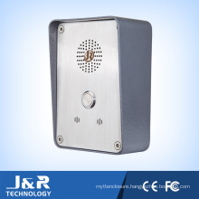 J&R Weatherproof Handsfreetelephone Emergency VoIP Intercom Telephone
