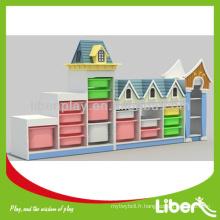 Cabinet de jouets éducatifs pour enfants LE-SJ.091