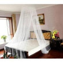 Mosquitero decorativo doble para cama