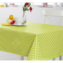 Nouveau support amical conçu de tissu de nappe de motif imprimé par PVC