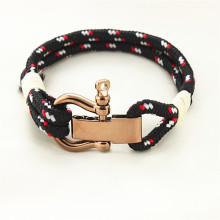 Новый браслет веревочной трубы из нейлона из нейлона для мужчин и женщин от Runda