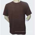 Простая органическая бамбуковая пустая футболка (OBT-001)