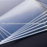Plastic PMMA Acrylic Sheet with Excellent Hardness Applied to ZBV in Stock