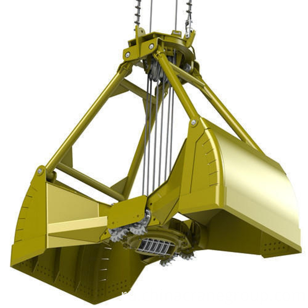 Mechanical Four Rope Grab Bucket-LT