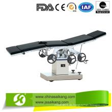 Elektrisch-hydraulischer Operationstisch für die Augenheilkunde