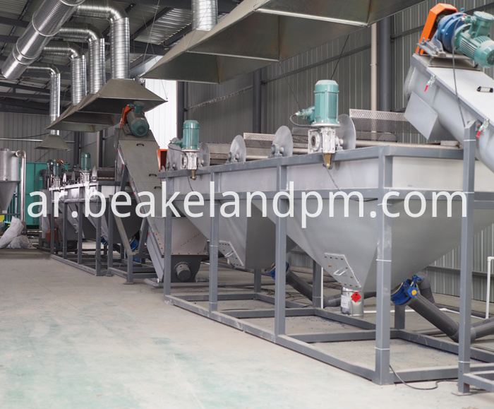 Plastic Profile Crushing Washing Recycling Machine