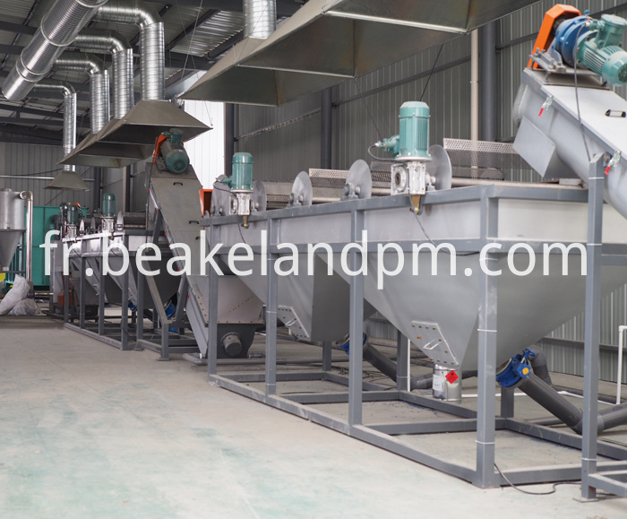 Pvc Crushing Washing Drying Line