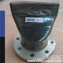 Válvula de retención de pico de pico con brida RF de acero fundido