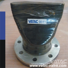 RF Flanged Cast Steel NBR/EPDM Duckbill Check Valve
