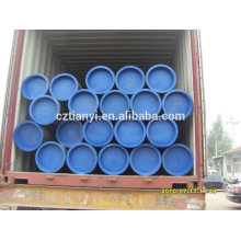 Бесшовная труба из углеродистой стали с ASTM A106 Standard