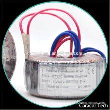 Alibaba Huzhou Supplier 300Va Current Round Electronic Transformer For Amplifiers