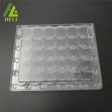 30 Cells PET Plastic Quail Eggs Container Packing