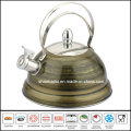 Full Color Painted Whistle Kettle Kitchenware