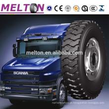 Pneu resistente 315 / 70R22.5 315 / 80R22.5 12R22.5 13R22.5 do caminhão do tipo de Melton