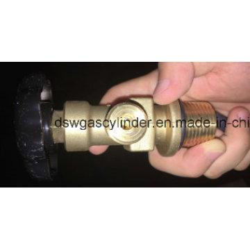 Válvula de cilindro de gás de alumínio 40L