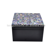 New zealand paua shell multi-drawer jewelry box