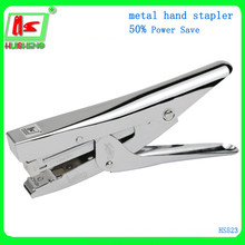 2016 new metal hot hand stapler for school