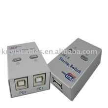 USB 2.0 Sharing Switch USB Switch 2 PC zu 1 Drucker / Scanner