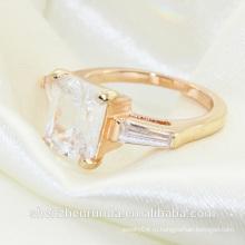 2014 мода бриллианты пасьянс обручальные кольца ювелирные изделия