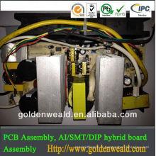 Assemblée de PCB usa PCBA Fournisseur de service, service de SMT et de DIP, carte PCB électronique
