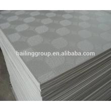 Placa de gesso laminado de PVC