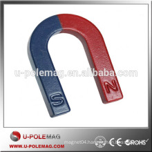 U shape education alnico horseshoe magnet