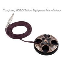 Exclusiva fuente de interruptor de pie de máquina de tatuaje Premium