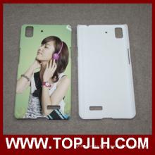 Sublimation blanc 3D portable Etui Oppo R7