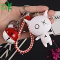 Andox Box Keyring Custom Plastic Silicone Keychain