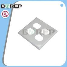 YGC-002 OEM Chine fournir des plaques de recouvrement de commutateur en plastique personnalisé