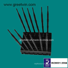 WiFi Jamer / дистанционное управление Jammer / 2g 3G 4G Blocker (GW-JA12)