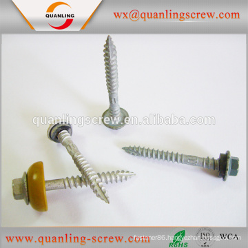 Wholesale china factory metal roofing self tapped screws