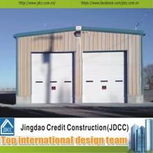 Profissional e Fast Assemble Estrutura de aço Garage Building