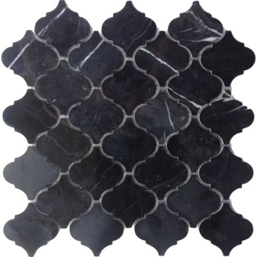 Black Natural Stone Mosaic Wall Tile Wholesale