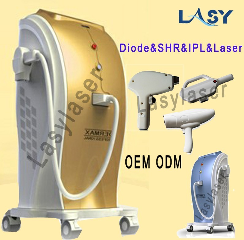 808nm diode laser d'épilation machine