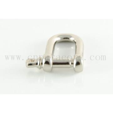 candado de acero inoxidable o hebilla de metal personalizado color y logotipo personalizados