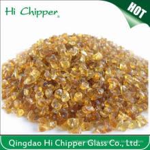 Ajardinando Chips de Vidro Escamas Ambaradas Ambarinas de Espuma de Vidro